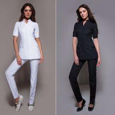 Stylemonarchy spa uniform shanghai spa tunic cordoba for Spa nagoya uniform