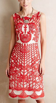 Gorgeous red dress #anthrofave http://rstyle.me/n/tb8dwn2bn