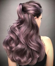 """28.6k Likes, 401 Comments - Guy Tang® (@guy_tang) on Instagram: """"Violet Metallic model from Chile with @olaplex using @kenraprofessional Violet Metallic and Violet…"""""""