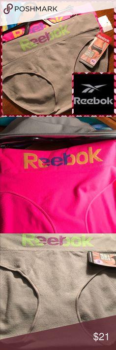 REEBOK 2 Pack Hipster Panties Seemless Hipster.  Breathable comfort, moisture management. Reebok Intimates & Sleepwear Panties