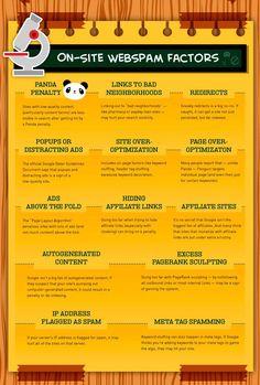 200 factores de Google Seo: On-Site Webspam Factors (9/10)