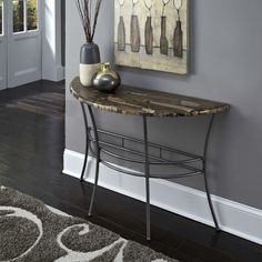 Found it at Wayfair - Turn to Stone Console Table