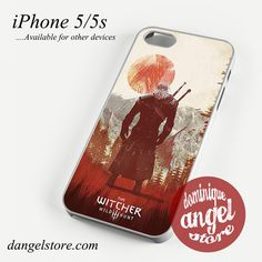 The witcher 3 Phone case for iPhone 4/4s/5/5c/5s/6/6 plus