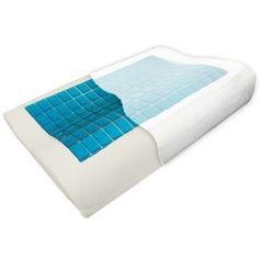 Hypoallergenic Cool Gel Memory Foam Wedge Pillow