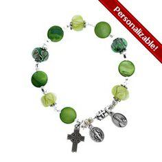 Irish Celtic Rosary bracelet