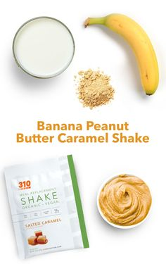 Believe it or not, six ingredients is all it takes to create this delicious shake with 24g of quality protein and 13g of healthy fats! Learn how to make it here. Peanut Butter Shake, Chocolate Peanut Butter Cookies, Peanut Butter Banana, Protein Powder Recipes, Protein Shake Recipes, 310 Nutrition Shake, Chocolate Shake, Meal Replacement Shakes, Healthy Breakfast Recipes