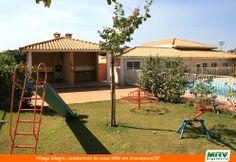 Paisagismo do Village Allegro. Condomínio fechado de apartamentos localizado em Araraquara / SP.