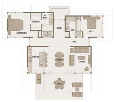 Floorplan sd153 1,350 square feet 1 Story 2 Bedroom 2 Bathroom - See more at: http://stillwaterdwellings.com/project/floorplan-sd153/#sthash.gCTMjZ9v.dpuf