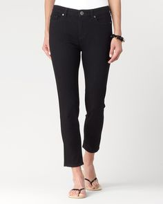 Natural skinny ankle jeans