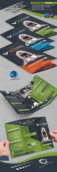 27 Best Sport Brochure Template Images On Pinterest Brochure