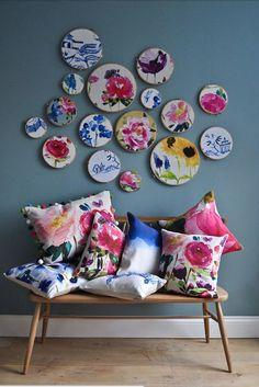 The #colourful, unique style of @bluebellgray , designed by #scotland -based #designer Fi Douglas.