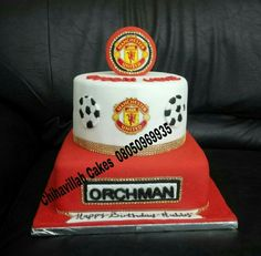 Manchester United cake by Chihavillah cakes