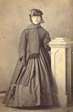 Victorian scarf