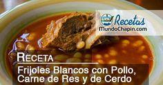Un plato tradicional en las mesas de los guatemaltecos a la hora del almuerzo, Recomendable acompañar con marimba y toda la familia.  Ingredientes: 2 libras de pollo, espinazo o posta de cerd…