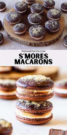 Macarons, Macaron Cookies, Shortbread Cookies, Marshmallow Desserts, Marshmallow Frosting, Toasted Marshmallow, Macaroon Filling, French Macaron Filling, Pumpkin Recipes