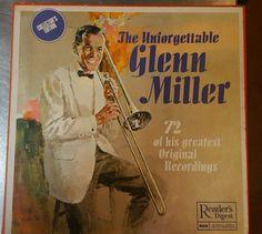 "READERS DIGEST - ""THE UNFORGETTABLE GLENN MILLER "" 6 LP VINYL BOX SET"