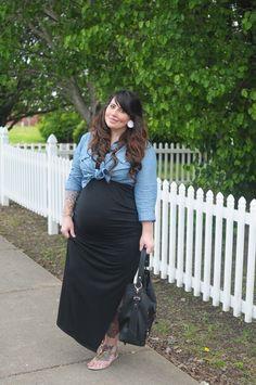 7ca1c0cacf7b Plus size diva Plus Size Maternity Dresses