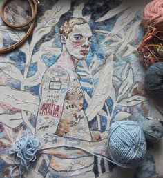 1489 Best Contemporary Embroidery Images Contemporary Embroidery