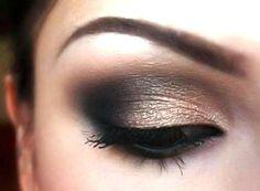 Neutral Smokey eyeshadow for Brown Eyes Tutorial   AmazingMakeups.com