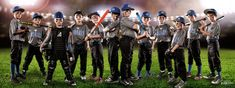 Had the opportunity to shoot a youth baseball team…the Sylvan Hills Bears 6U All Stars…great bunch of kids. I shot each kid separately and chose the best image for the group shot and then I arranged them as a group. Each kid had a 3 light setup with a strobe behind each shoulder and a beauty dish camera left. All CC welcome, thanks