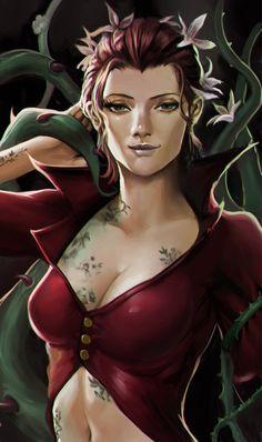 Poison Ivy - Arkham Knight by phamoz