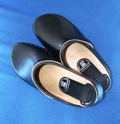 A new pair of classic clogs - Danish Design - 1970s and 1980s