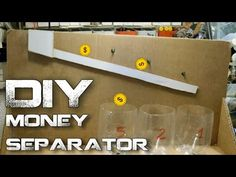 Simple method to separate coins,make yourself cardboard coin separator.Its made out household items like plastic bottles,push pins,cardboard and some glue.Th...