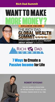 Discover 7 Ways to Create aSustainable, Passive Income for Life So You Can Work Less, Earn More & Finally Escape The Rat Race... #money #income #Earnings #rich #richdad #welth #affiliate #mlm #traffic #free #marketing #affiliatemarketing #networkmarketing #makemoneyonline #onlinemarketing #ppc  #business  #advertising  #internetmarketing  #marketingstrategy  #conversions     #emailmarketing  #seo  #analytics  #ecommerce  #sem  #socialmedia #robertkiyosaki