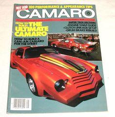 Vintage 1984 Hot Rod Magazine Camaro Special Edition Vol 2 5 | eBay