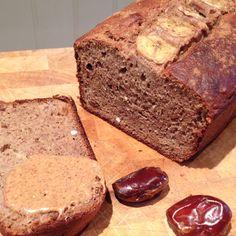 Gooey Date & Banana Loaf