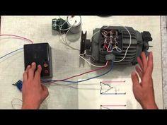 подключение двигателя 380 на 220 вольт - YouTube