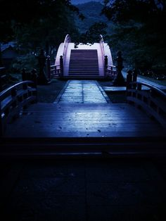 Bridge at Nifutsuhime shrine, Wakayama, Japan