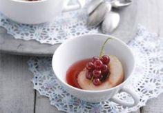 Hoogzomersoepje met nectarines en rode bessen   Recept   KookJij