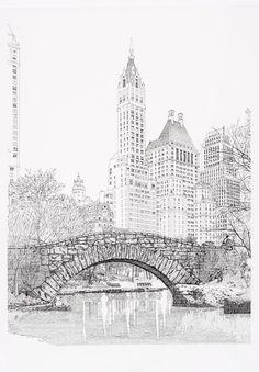 Central Park by Sonny Perschbacher