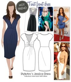 Jessica Dress by Style Arc