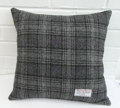 Harris Tweed Cushion Cover...18in. x 18in.... Handmade.ref.cc238: Amazon.co.uk: Kitchen & Home