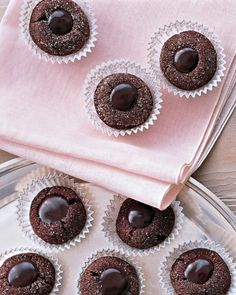 """See the """"Chocolate and Vanilla-Bean Ganache"""" in our Chocolate Frosting, Glaze, and Sauce Recipes gallery"""