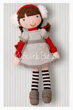 Kuferek Bietki: Ika - lalka na szydełku/ Ika, Gehäkelte Puppe/ Ika, the crocheted doll http://lalkimisie.blogspot.com/2013/11/ika-lalka-na-szydeku-ika-gehakelte.html