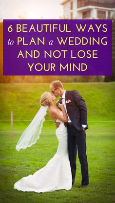 How to plan a wedding without losing your mind