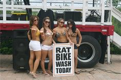 RatBike Wash Today....