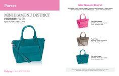Mini Diamond District Purse $88 https://www.mythirtyone.com/1676428/shop/party/parties