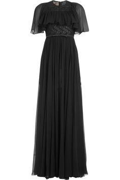 Giambattista Valli - Draped Silk Evening Gown