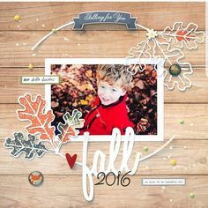 @agadji is on the blog today sharing this layout for our new issue. She also made this free cut file. Grab it in our store now.