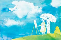 The Wind Rises features Jiro and Nahoko by PenelopeLovePrints