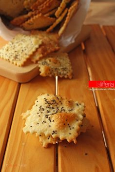 Crackers homemade facili e veloce
