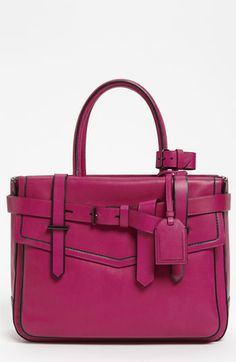 Love the color!!! Reed Krakoff 'Boxer' Leather Satchel available at #Nordstrom