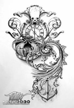 Tattoo sketch by Sperlich Tattoo - their designs are breathtaking!