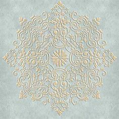 ceiling stencils | avignon ceiling medallion stencil | royal design studio