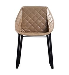 Kekke Dining Chair  Contemporary, Leather, Metal, Upholstery  Fabric, Dining Room by Lepere