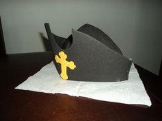 Como hacer un sombrero de Cristóbal Colon